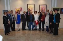 HÜSEYIN YıLMAZ - Adana Çukurova Güzel Sanatlar Derneği'nden Karma Resim Sergisi