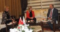 ŞEREFIYE - AK Parti Van Büyükşehir Belediye Başkan Aday Adayı Ateş'ten Birlik Vakfına Ziyaret