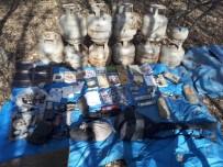 HAVAİ FİŞEK - Bingöl'de 6 Odalı Sığınak İle Patlayıcılar Ele Geçirildi