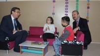 SERKAN KEÇELI - Burunkaya Şehit Emrah Kartal İlkokulun'da Kütüphane Açılışı Yapıldı