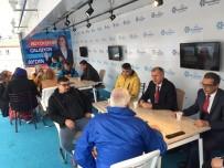 Büyükşehir Bürokratları Buharkent'te Vatandaşları Dinledi