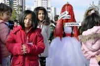 ANAOKULU ÖĞRETMENİ - Çocuklardan 'Çocuk Gelin' Protestosu