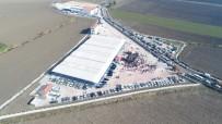 HAYVAN PAZARI - Hatay'da İlk Ruhsatlı Mezbaha Açıldı