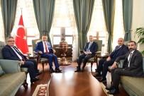 GAZIANTEP TICARET ODASı - İKA Yönetimi Vali Soytürk'ü Ziyaret Etti