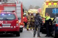 TOPRAK KAYMASI - İspanya'da Tren Raydan Çıktı Açıklaması 1 Ölü, 44 Yaralı