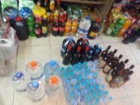 TEKEL BAYİSİ - Kaçak İçki, 2 Çocuğu Canından Ediyordu