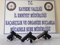 SİLAH TİCARETİ - Kayseri'de Silah Ticareti Yapan Şahıslara Operasyon Açıklaması 2 Gözaltı