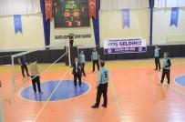 AÇILIŞ TÖRENİ - Okullararası Voleybol Turnuvası Başladı
