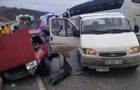 HAKAN YILMAZ - Samsun'da Trafik Kazası Açıklaması 6 Yaralı