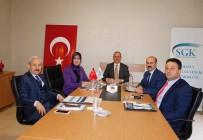 MEHMET YAŞAR - SGK Müdürlerinden Amasya'da Toplantı