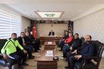 BOWLING - Spor Camiasından Kaymakam Ayca'ya Teşekkür Ziyareti
