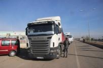 ALLAH - Suriyelilere 9 Tırlık Gıda İle Giysi Yardımı