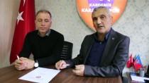İMZA TÖRENİ - Taner Öcal, Resmen Kardemir Karabükspor'da