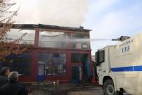ALLAH - TOMA'nın Müdahalesiyle İş Yerindeki Yangın Söndürüldü