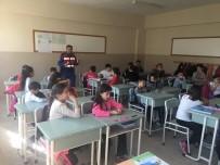 KARAYOLLARI - Yenice Jandarmadan Öğrencilere Trafik Eğitimi