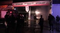 Bursa'da İş Yeri Yangını