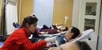 MUSTAFA YıLMAZ - AKEDAŞ'tan Kızılay'a Kan Bağışı