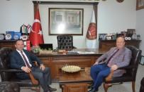 MESUT ÖZAKCAN - Başkan Özakcan'dan Aydın Barosu'na Ziyaret