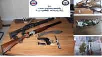 YAKALAMA EMRİ - Erdek'te Silah Ve Uyuşturucu Operasyonu