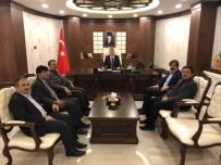 İMAM HATİP OKULLARI - HAK-DA'dan Vali Akbıyık'a Ziyaret