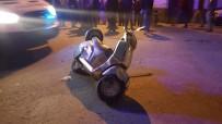 Otomobil Motosiklete Çarptı  Açıklaması 1'İ Ağır 2 Yaralı