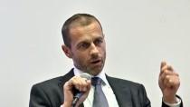 SARAYBOSNA - UEFA Başkanı Ceferin, Uluslar Ligi'nden Memnun
