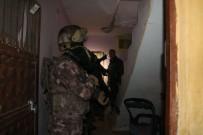 POLİS HELİKOPTERİ - Adana'da Terör Operasyonu Açıklaması 16 Gözaltı