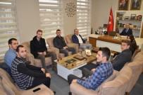 ÖĞRENCİ MECLİSİ - Başkan Öztürk'e, Öğrenci Meclisi Başkanlarından Ziyaret