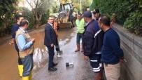 MEHMET YAVUZ DEMIR - Bodrum'da Sel Mağdurlarına Destek