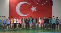 CENGIZ ŞAHIN - Cengiz Şahin'den Genç Sporculara Ziyaret
