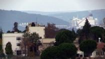 KIYI EMNİYETİ - Dünyanın En Büyük İnşaat Gemisi Çanakkale Boğazı'ndan Geçti