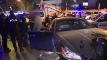 ALKOLLÜ SÜRÜCÜ - 'Dur' İhtarına Uymayan Alkollü Sürücü Polise Çarptı