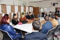 Dursunbey'de Öğretmenlere Özel Ahşap Anı Defteri