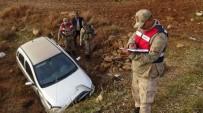 Gercüş'te Otomobil Menfeze Uçtu Açıklaması 1'İ Ağır 3 Yaralı