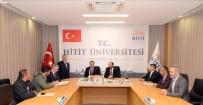 HITIT ÜNIVERSITESI - Hitit Üniversitesi İlahiyat Fakültesi Uygulama Cami İhale Sözleşmesi İmzalandı
