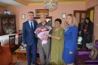 ALI SıRMALı - Kaymakam Sırmalı'dan Emekli Öğretmenlere Vefa Ziyareti