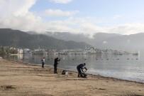 LODOS - Marmaris'te Fırtınan İzleri Silinmeye Çalışılıyor