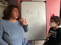EVDE EĞİTİM - (Özel) Lösemi Hastası Minik Medine Öğretmenine Kavuştu