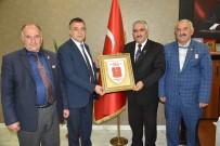 GAZİLER DERNEĞİ - Van Muharip Gaziler Derneği'nden Sağlık Müdürü Sünnetçioğlu'na Ziyaret