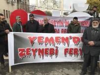 Yemen'deki İnsani Kriz Protesto Edildi