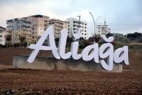 AY YıLDıZ - Aliağa'daki Kent Görselleri Vatandaşlar Tarafından Beğenildi