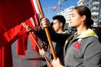 TÜRK BAYRAĞI - Antalya'da 24 Kasım Öğretmen Günü Kutlamaları Başladı