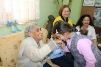 ÇEKİRGE İSTİLASI - Asırlık Çınar Fatma Öğretmen'i Unutmadılar