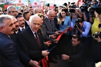 MUSTAFA AKSOY - Bahçeli, Antalya'da Partisinin İl Binasını Açtı