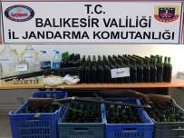 OCAKLAR - Erdek'te Kaçak İçki Operasyonu