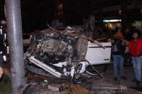 KIRMIZI IŞIK - İzmir'de Trafik Kazası Açıklaması 1'İ Ağır 4 Yaralı