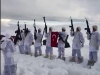ALAY KOMUTANLIĞI - Jandarma Komandolar, 3 Bin Rakımda Öğretmenler Gününü Kutladı