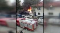 SOLMAZ - Karaman'da Yangın