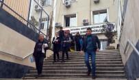 POLİS İMDAT - Lastik Patlatıp Soygun Planı Yapan Şüpheliler Baltayı Taşa Vurdu