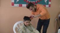 AKÇAALAN - (Özel) Minikler, 'Kuaförüm Okulda' Projesi İle Sevindi